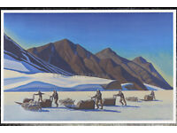 Iditarod Aurora Cancer Poster Proceeds go to national cancer charities