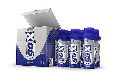 goX-med. Sauerstoff in Dosen, goX Sixpack 6-Liter=6xEinzeldose 6-Liter=36 Liter