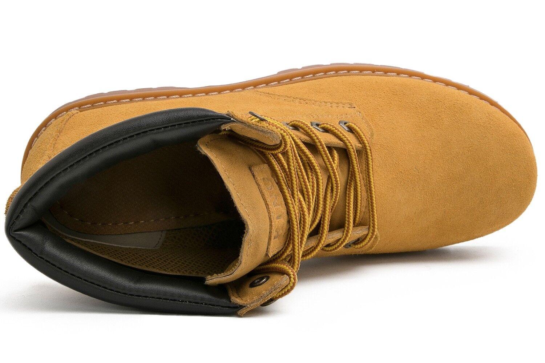 KINGSHOW Men's 1801 Water Resistant Premium Work Boots 1
