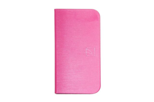 """Tucano Filo 4.7"""" Booklet Wallet Case Cover Eco Leather for iPhone 6 6S 7 Pink"""