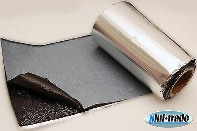 ALUBUTYL Dämmmatte 1m² Anti Dröhn Matte Auto Tür HIFI Bitumen-Ersatz 25x400cm