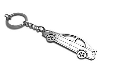Stainless Steel Keychain for Kia Cerato I LD Car Key Ring Auto Llavero Acero