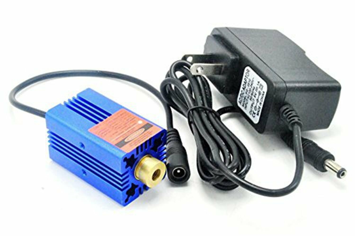 2000mw High Power 450nm 2W Focusable Blue Dot Laser Module C