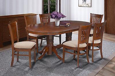 SOMERVILLE OVAL DINETTE KITCHEN DINING TABLE SET 42
