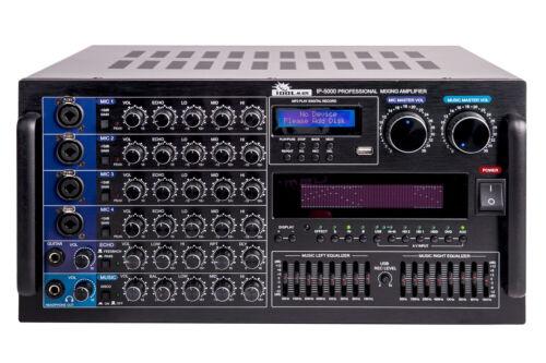 IDOLmain IP-5000 6000W Professional Digital Karaoke Mixing Amplifier IDOLpro