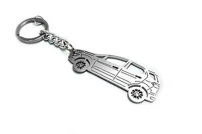 Keychain for Ford EcoSport II Steel Key Chain Auto Design Schlüsselanhänger