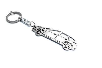 Stainless Steel Keychain for Citroen DS5 Key Ring Auto Schlüsselanhänger
