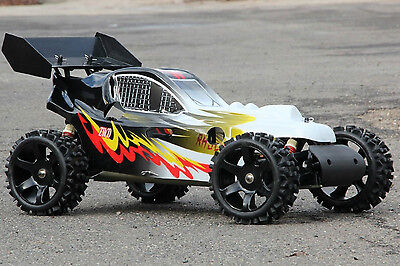 XTC RC RACING MONSTER BUGGY 30,5ccm 4PS 80Km/h 2,4 GHZ VERBRENNER 1:5 NEU