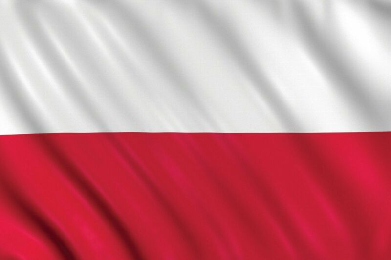 LARGE 5ft x 3ft Poland Polish Polska Flag Football Olympic Fans Supporter Europe