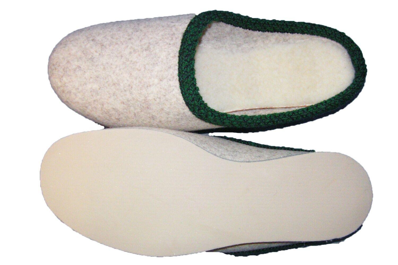 filz hausschuhe herren walker pantoffel gef ttert erzgebirge filzpantoffel neu eur 22 95. Black Bedroom Furniture Sets. Home Design Ideas
