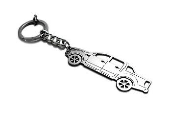 Keychain for Ford Ranger Key Ring Car Design Coche Llavero Colgante Metal