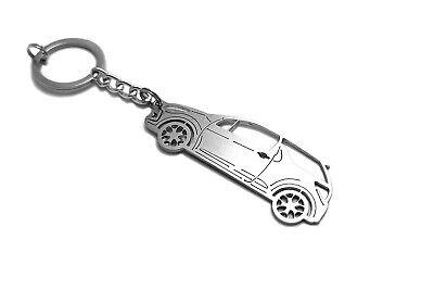 Keychain for Citroen DS3 Stainless Steel Schlüsselanhänger Auto Colgante