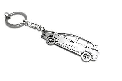 Stainless Steel Keychain for Kia Carens IV Car Key Ring Auto Llavero Acero