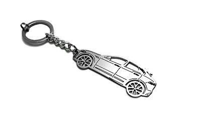 Keychain for Jaguar E-Pace Key Ring Car Design Coche Llavero Colgante Metal