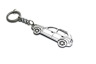 Keychain for Hyundai Tucson I Key Ring Car Design Coche Llavero Colgante Metal