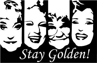 The Golden Girls Vinyl Decal Laptop Sticker Estelle Getty Bea Arthur Betty White