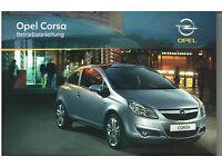Bedienungsanleitung Opel Corsa C neu Ausgabe 01//2005 #bac0105