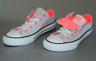 Converse Kids Chuck Taylor All Star Double Tongue Oxford Low Top Sneakers Shoes Chuck Taylor Kids Top