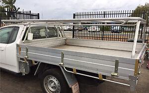 Falcon FG ute alloy tray with racks Walliston Kalamunda Area Preview