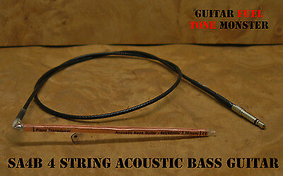 TONE MONSTER SA4B Acoustic Bass Guitar Piezo Under Saddle Transducer UST Pickup