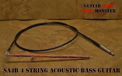 TONE MONSTER SA4B Acoustic Bass Guitar Piezo Under Saddle Transducer UST Pickup