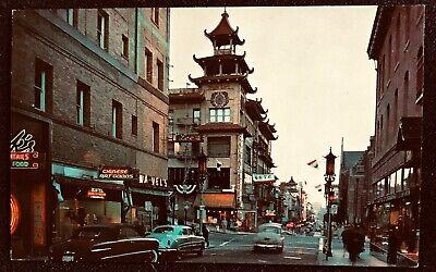 CALIFORNIA Chinatown SAN FRANCISCO Shops~Bazaars~Chinese Art Goods~Cathay House