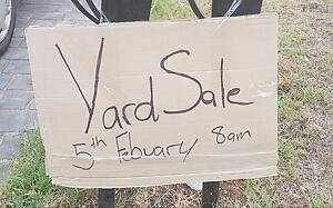 Yard sale 14a herbert st cambridge park Cambridge Park Penrith Area Preview
