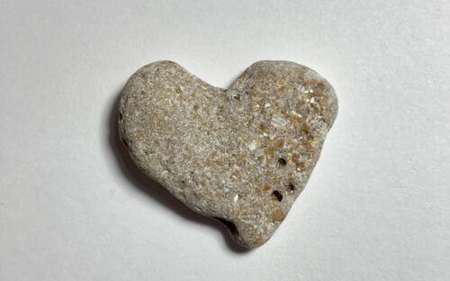 Natural ❤️ Heart Shaped Beach Rock Hag Love Stone Pebble Art Craft Sparkle USA