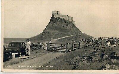 Lindisfarne Castle (LINDISFARNE CASTLE. 'HOLY ISLAND'. NORTHUMBERLAND. OLD POSTCARD)