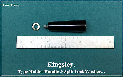 Kingsley Machine Type Holder Handle Slpit Washer Hot Foil Stamping Machine