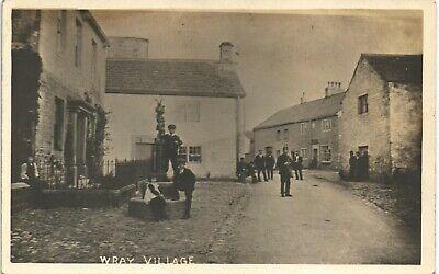 Wray near Hornby. Wray Village.