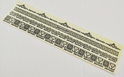 Jägermeister USA Bogen mit 4 temporären Tattoos Tribal Armband Motive