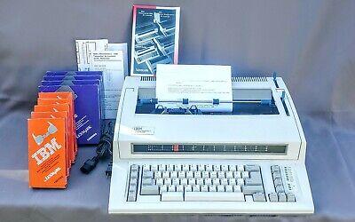 Vintage Ibm Personal Wheelwriter 2 Electric Typewriter By Lexmark Manual More