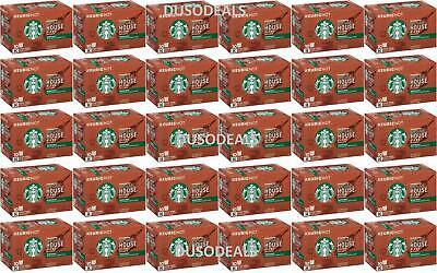 HUGE LOT 300 Starbucks Decaf House Keurig K-Cups Best Before October