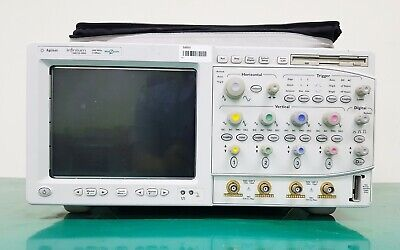 Keysight Agilent 54831d Mso 600mhz Oscilloscope With P6500 Probes Gpib