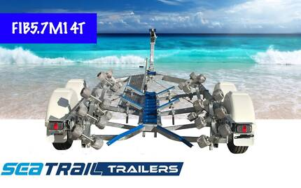 New Seatrail 5.7M Tandem Rollered Boat Trailer Hemmant Brisbane South East Preview