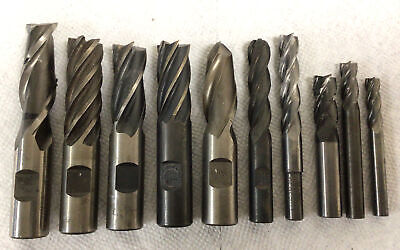 End Mill Lot Of 10