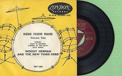 Englands Herd (WOODY HERMAN / Herd From Mars, Perdido, LONDON REP 1002 Press England 1955 EP EX)