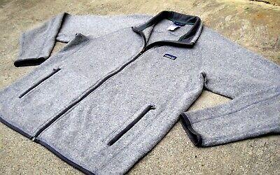 PATAGONIA Better Sweater Full Zip Fleece Jacket Men's L Gray