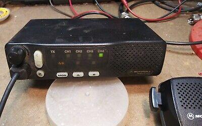 Motorola M1225 Vhf2 Meter 2-way Mobile Radio 4 Channel 45 Watt - Free Program