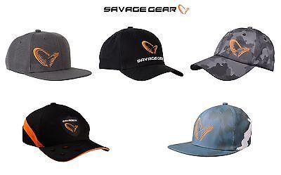 Savage Gear Baseball Caps/Hats*5 Types*Fishing Pike Perch Zander Predator