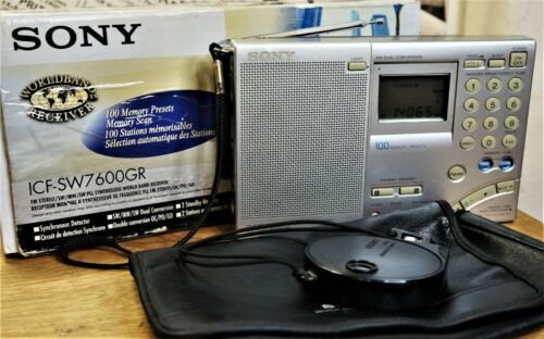 Sony ICF-SW7600GR Excellent condition