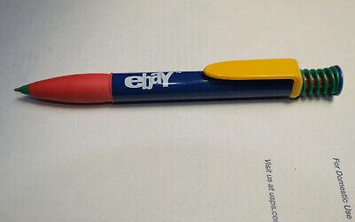 NOS 2006? RARE! VINTAGE eBay COLLECTIBLE PEN ~Old Logo, Coil Spring, Retractable