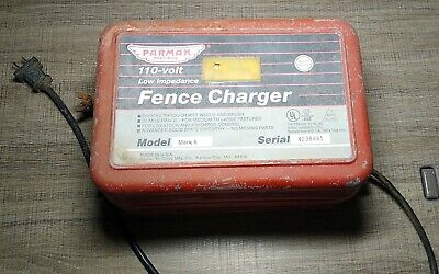 Fence Charger Parmak Mod 6 Low Impedance Cattle Horses