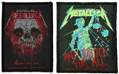 Metallica .and Justice for All + Wherever I May Roam Patch Lot of 2 [UK Import]