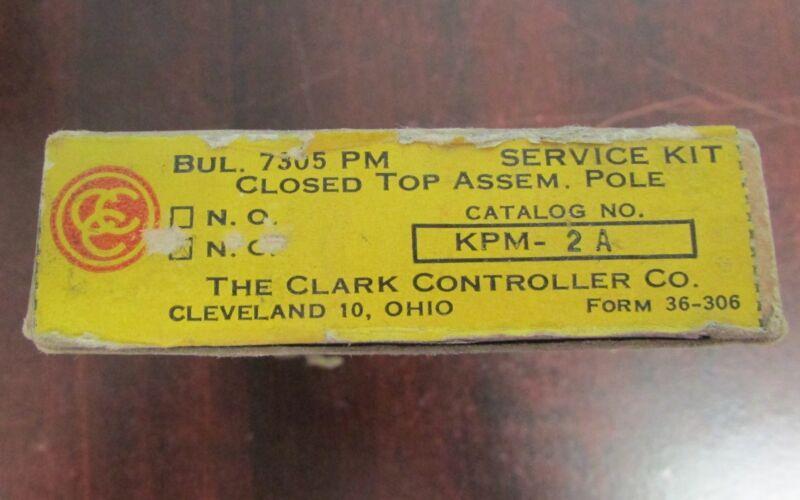 Clark Sylvania Joslyn Clark KPM 2A Overload Relay 7305 Bulletin 7305 PM