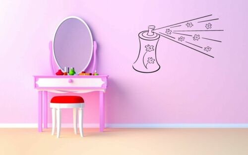 Wall Sticker Room Decal Hair Spray Cosmetics Woman Beauty Sa