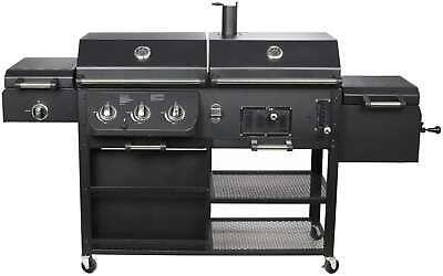 El Fuego® Kombigrill » Arizona AY0534 « 4-in-1, Smoker, Gasgrill, Grill, BBQ
