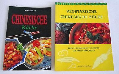 asiatische Kochbücher chinesische Kochbücher 2 Stü. Asiatische Küche