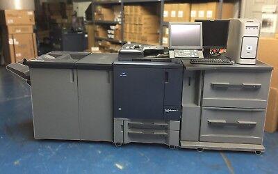 Konica Minolta Bizhub Press C1070 With Pf-602 Fs-532 W Ru-509 Ic-308